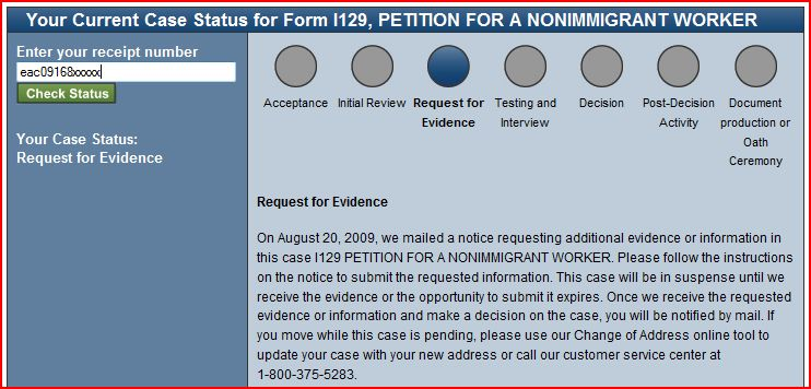 New Uscis Website Review Check Case Status Immigration Road Blog