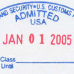 US Admission Stamp