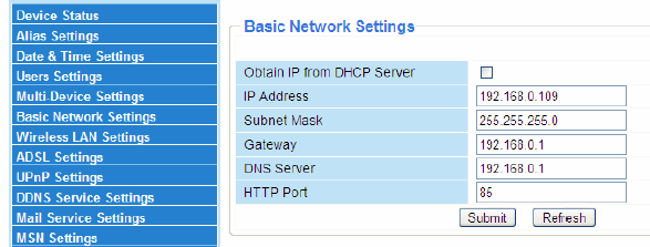 Basic-Network-Settings