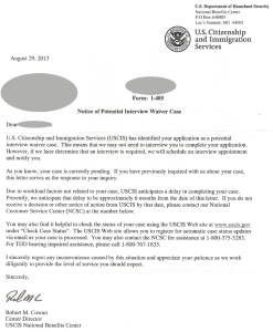 USCIS-Notice-of-Potential-Interview-Waiver