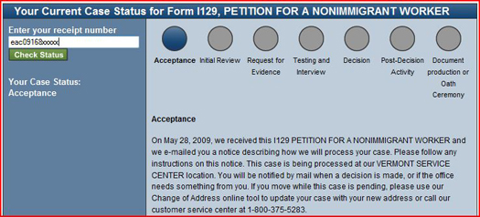 How to check your USCIS Case Status  US Immigration