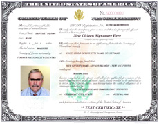 What S A Certificate Of Naturalization