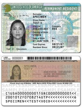 new green card from USCIS