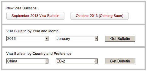 Visa Bulletin Toolbox